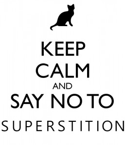 Image result for image just say no to superstition