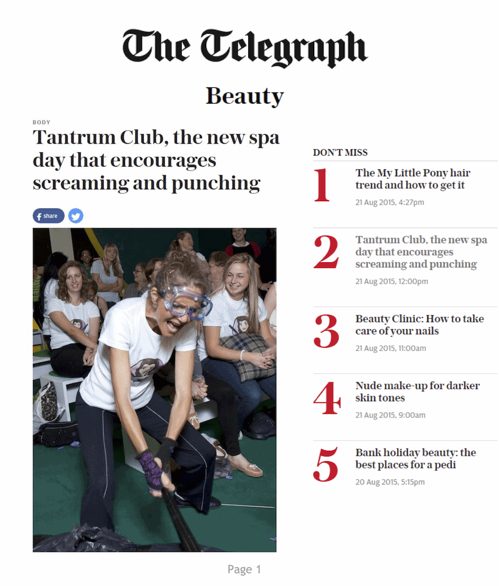 Telegraph.co.uk, 21 August 2015