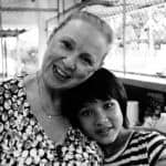 Sally Golding - working with her Thai Charity